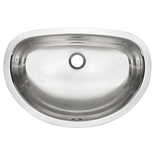 "18 Ga UM handwash basin - 13-11/16"" X 20"""" X 7"""