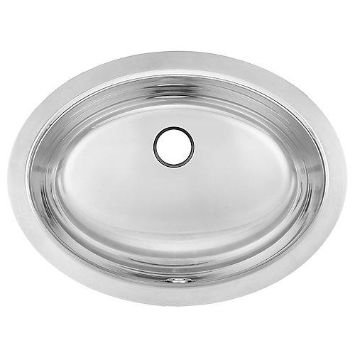"18 Ga UM handwash basin - 13-3/8"" X 17-7/8"" X 7"""