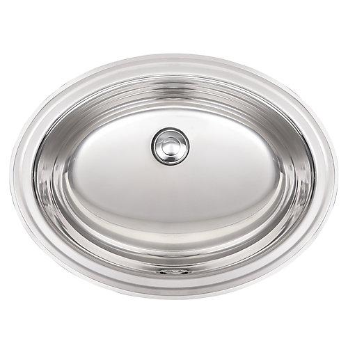 18 Ga drop-in basin