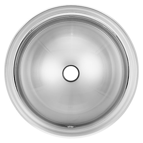 "18 Ga drop-in basin - 16-3/4"" round"