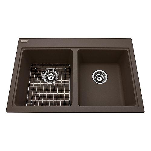 Double sink Onyx