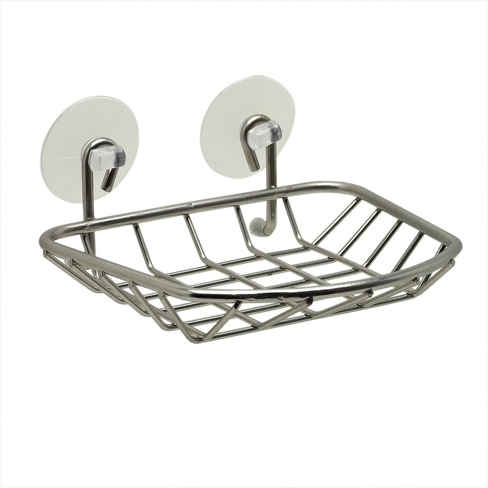 Zenith Products Zenna Home Suction Soap Dish in Brushed Nickel