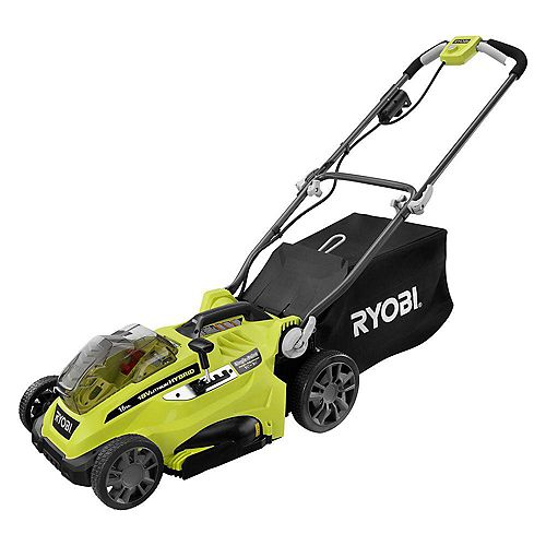 ONE+ 16-inch 18V Lithium-Ion Hybrid Push Lawn Mower (Tool Only)