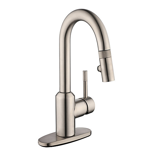2600 Series Pulldown Laundry Faucet in Stainless Steel