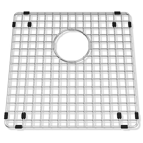 "SS wire bottom grid - 15"" X 15"" X 1"""