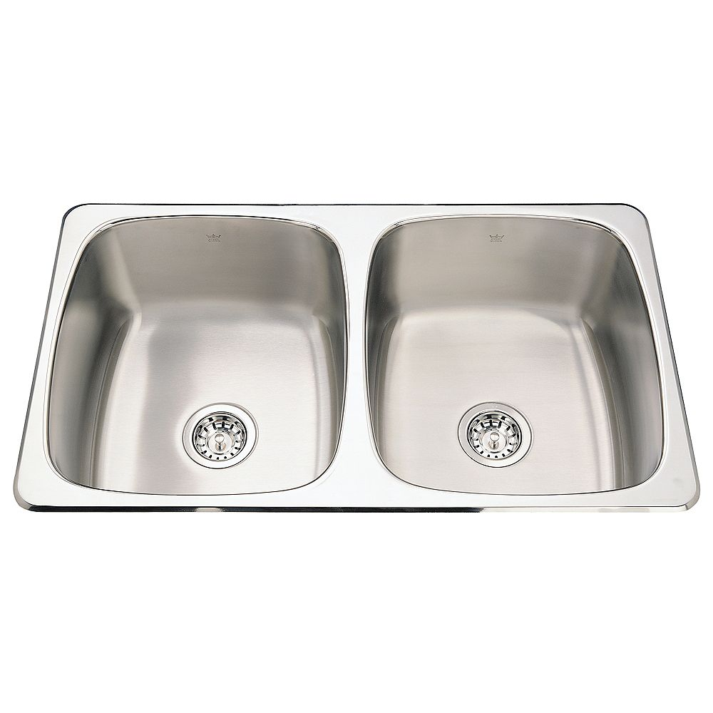 Kindred Double sink 20 Ga