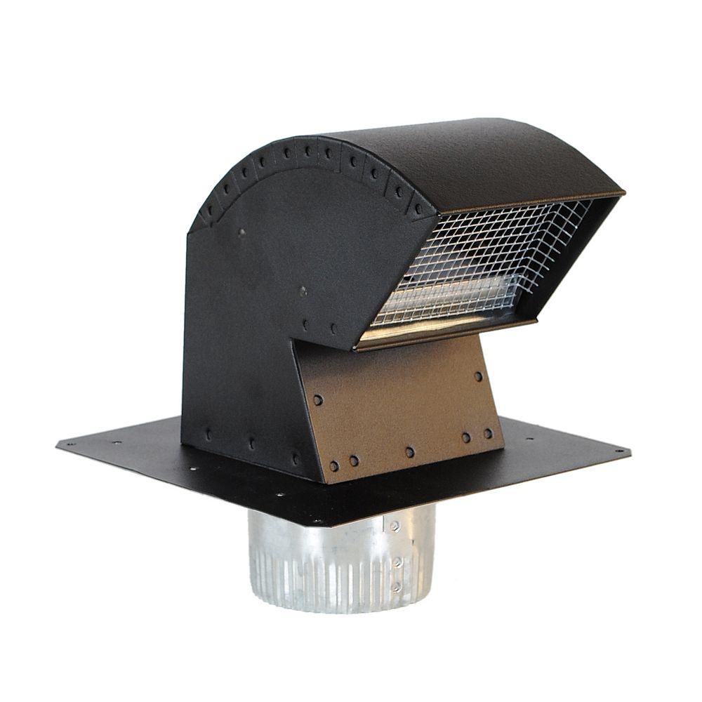 Imperial 4 Inch Roof Vent Cap With, Bathroom Exhaust Vent Cap