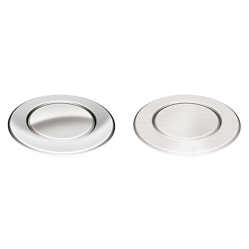 Air switch for continuous feed disposer