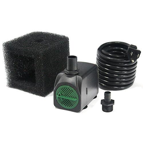Pompe de fontaine 1 210 LPH avec technologie Safe-Stop et cordon de 15 pi