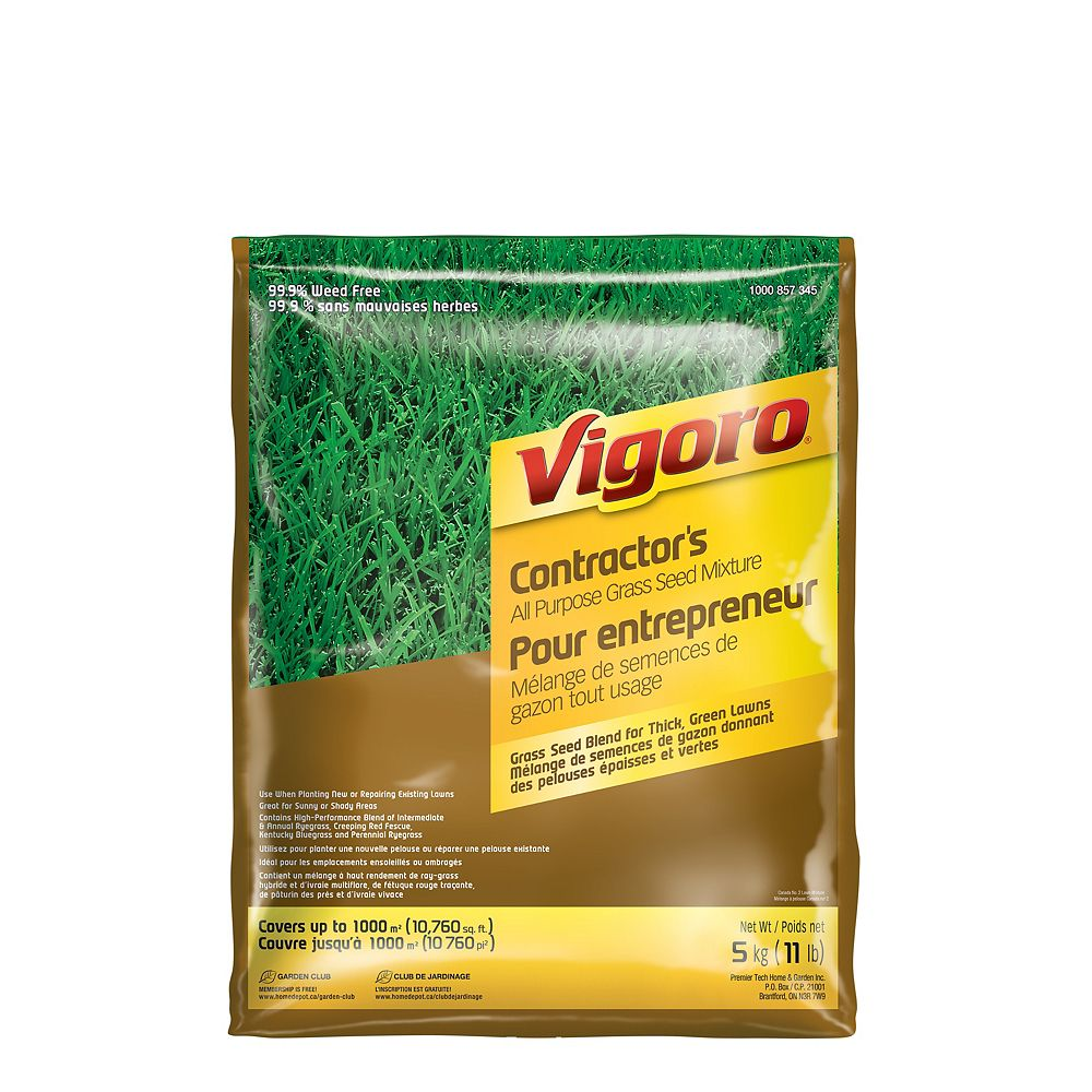 Vigoro Contractor's Mix Grass Seed