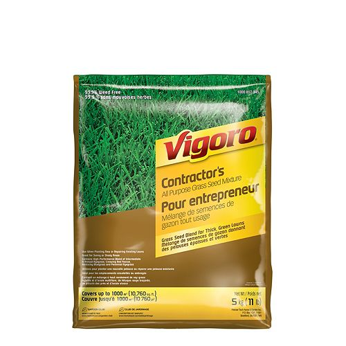 Contractor's Mix Grass Seed