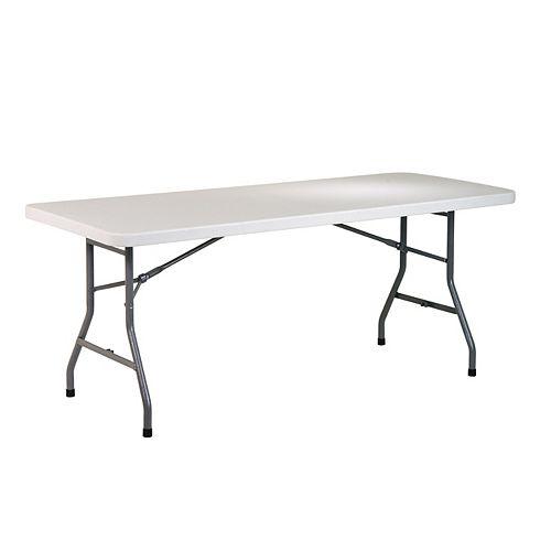 Table en résine tout usage de 6 pieds
