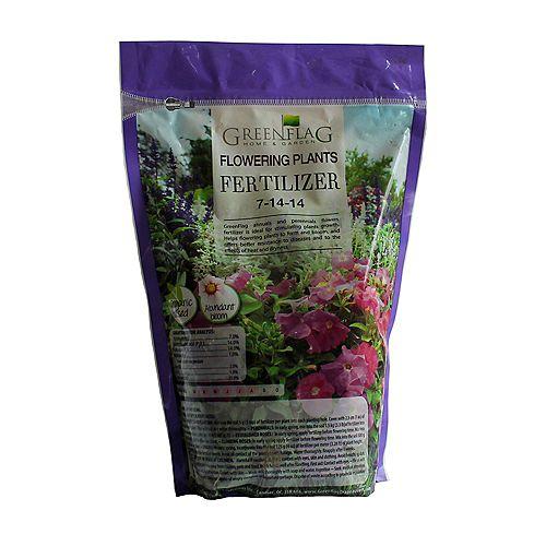 7-14-14 engrais pour les fleurs annuelles et vivaces,  sac de 1 kg