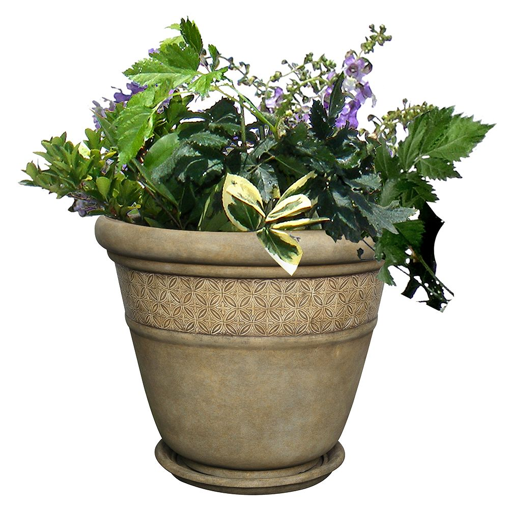 Hampton Bay 18-inch Portico Planter
