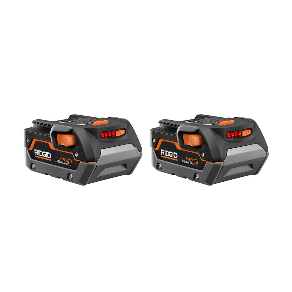 RIDGID 18V 3.0 Ah High Capacity Battery (2-Pack)