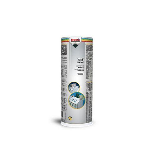 RESISTO Membrane D'Étanchéité Tout Usage- Fini Blanc 12Po