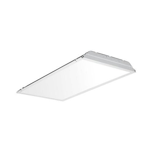 2 Feet X 4 Feet Smooth White Lens Lay- In LED Troffer ( 28-Pallet )