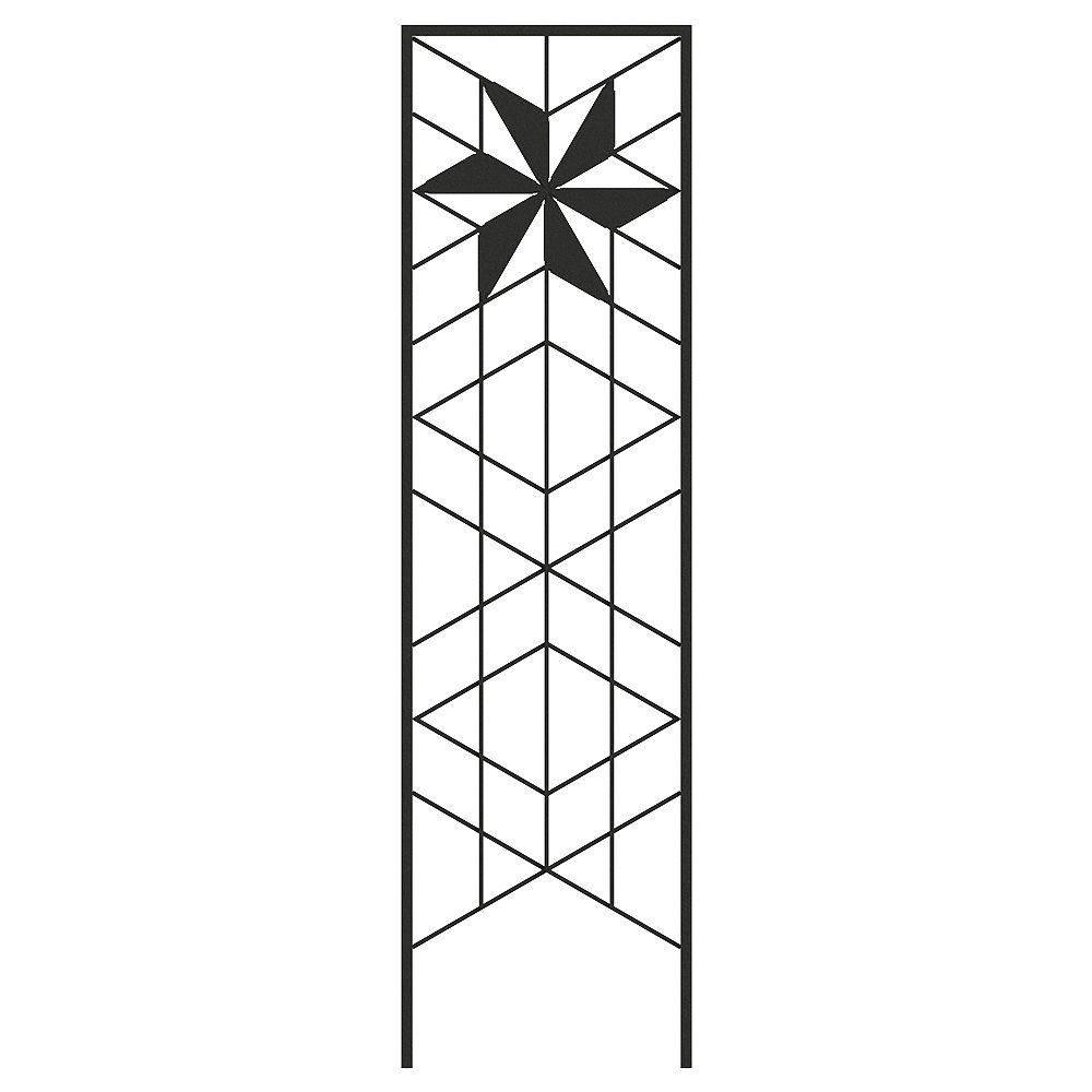 Peak Products 72-inch x 20-inch Twilight Trellis in Black