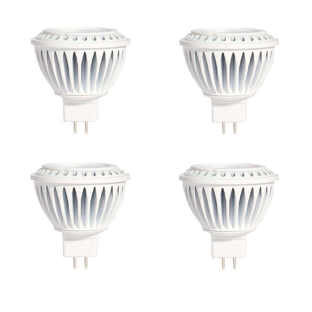 Strak LED MR16 7W 5000K 500LM CRI90 Dimmable LED Bulb - (4-Pack)