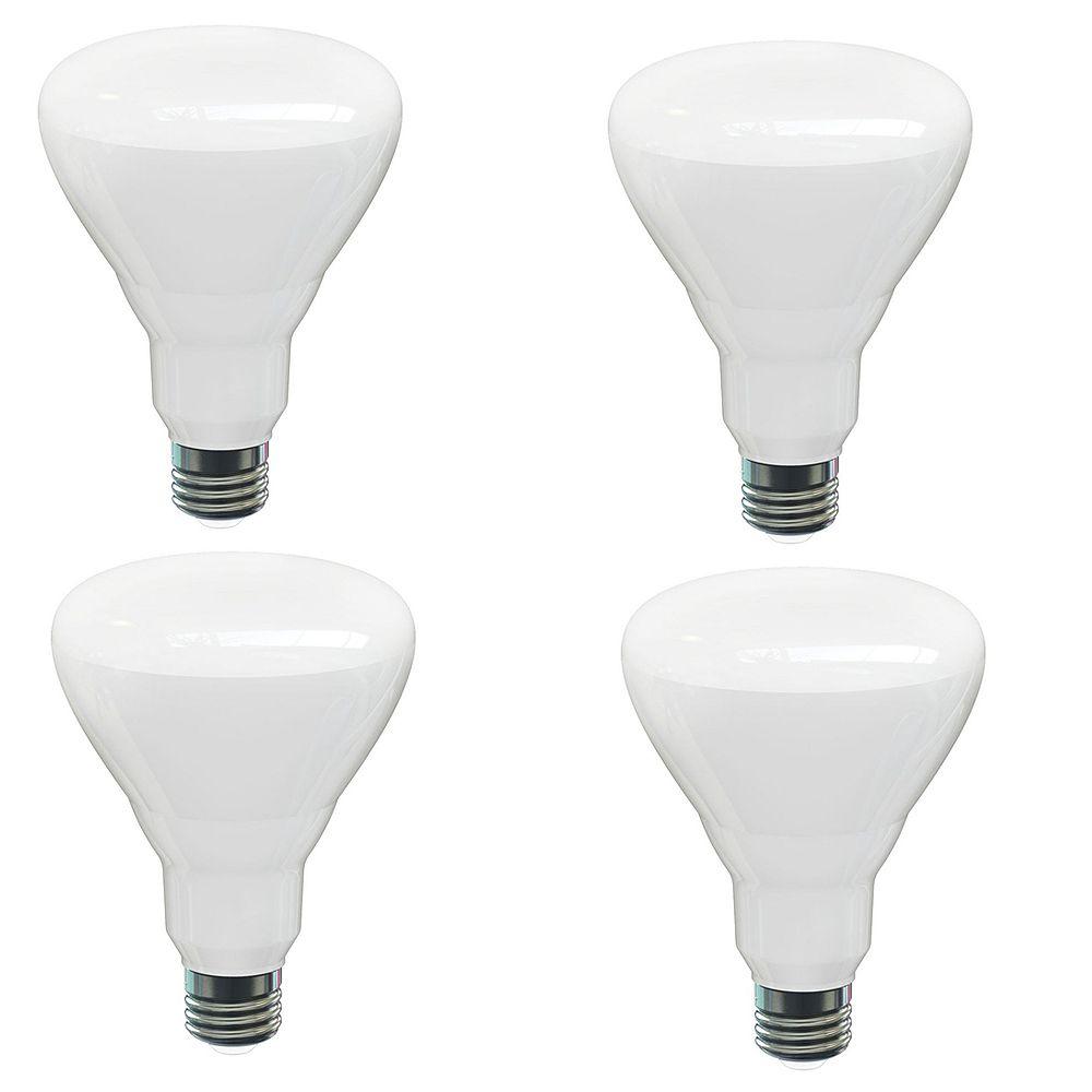 Strak LED BR30 14W 2700K 1100LM CR82 Dimmable LED Bulb - (4-Pack) - ENERGY STAR