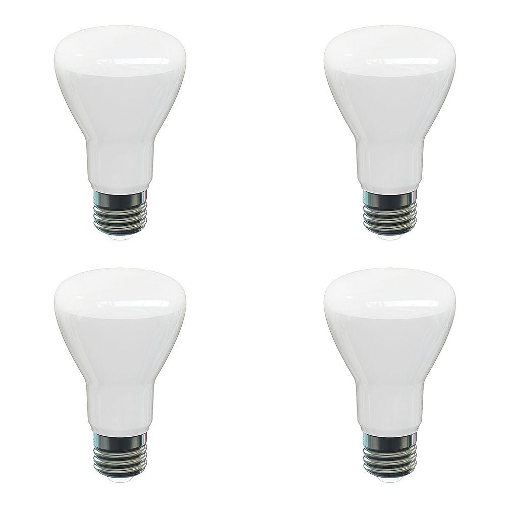 Strak LED 60W Equivalent 2700K BR20 550LM Dimmable ES LED Light Bulb (4-Pack)