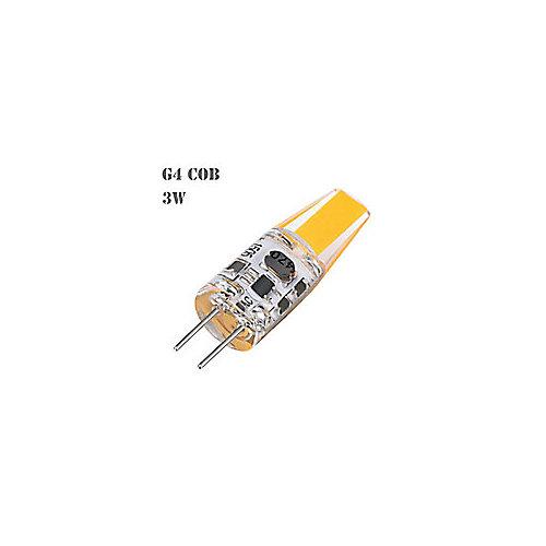 35W Equivalent 4000K G4 CRI80 Dimmable 12V AC/DC LED Light Bulb (4-Pack)