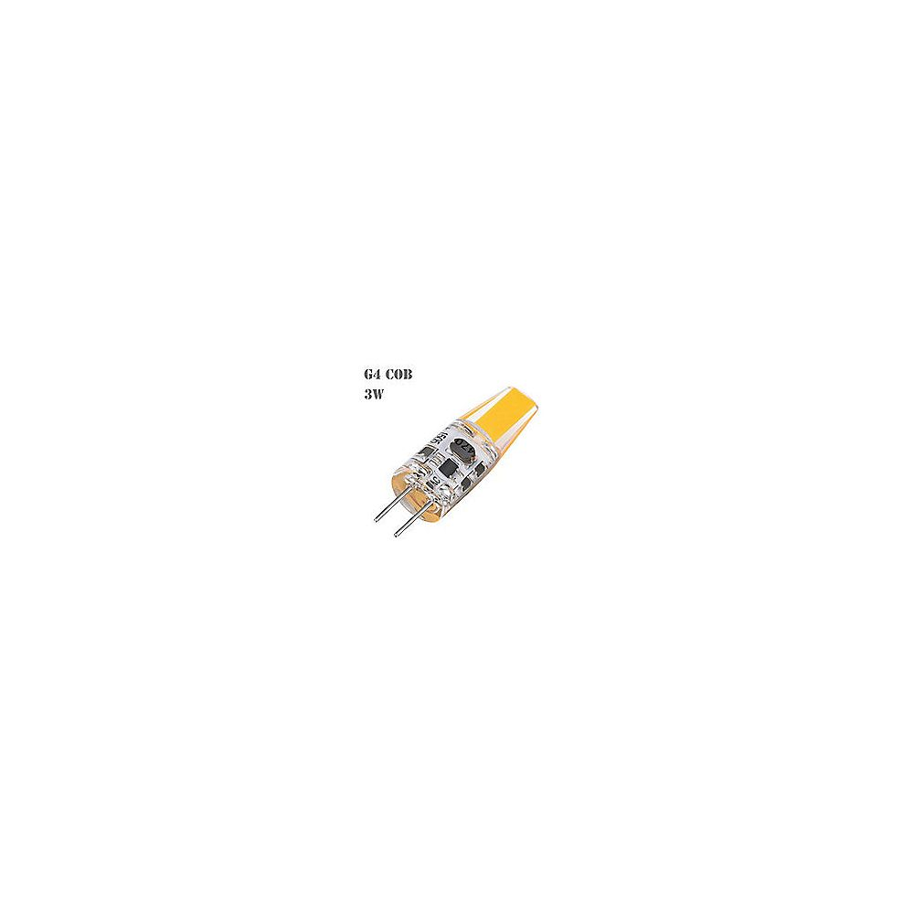 Strak LED 35W Equivalent 6000K G4 CRI80 Dimmable 12V AC/DC LED Light Bulb (4-Pack)