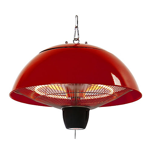 Hanging Infrared Gazebo Heater in Red