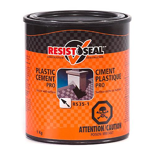 Rs35-1 Ciment Plastique Pro  -Surface Sèche Ou Humide - 1Kg