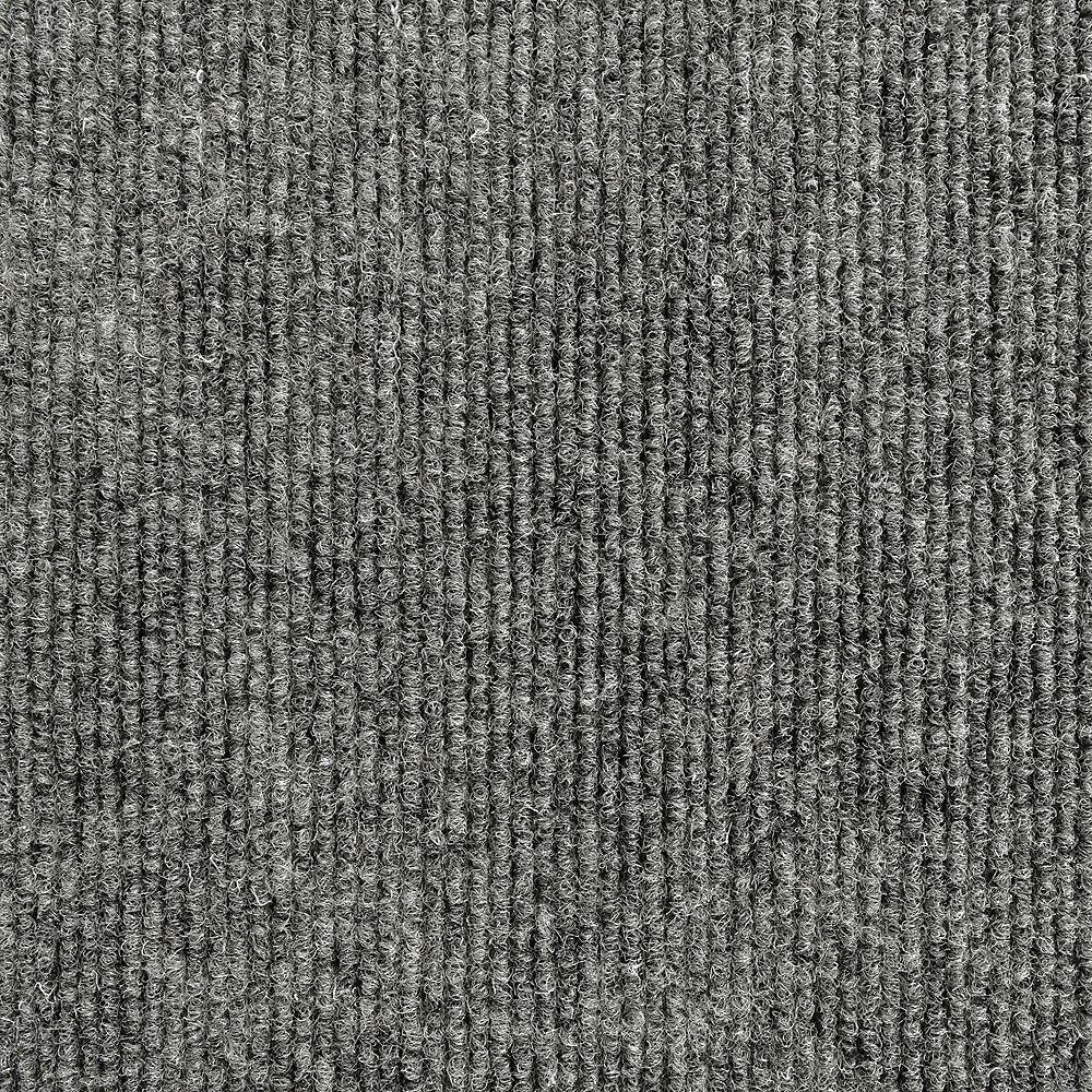 Lanart Rug Express Grey 8 ft. x 12 ft. Rectangular Area Rug