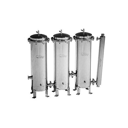 Système de filtration d'eau CasaWater Whole-house en acier inoxydable Gamma