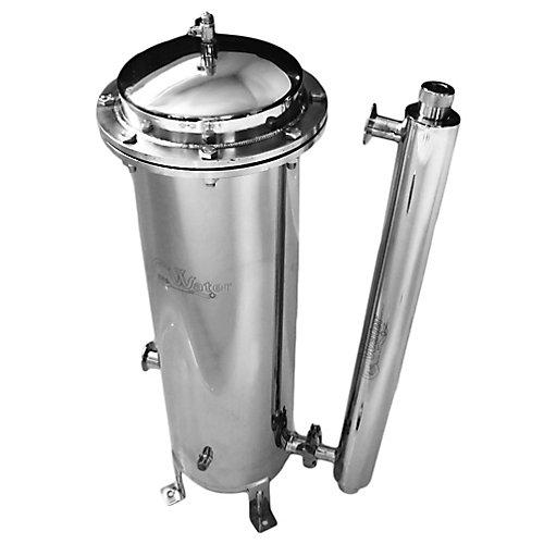 Système de filtration d'eau CasaWater Whole-house en acier inoxydable Beta