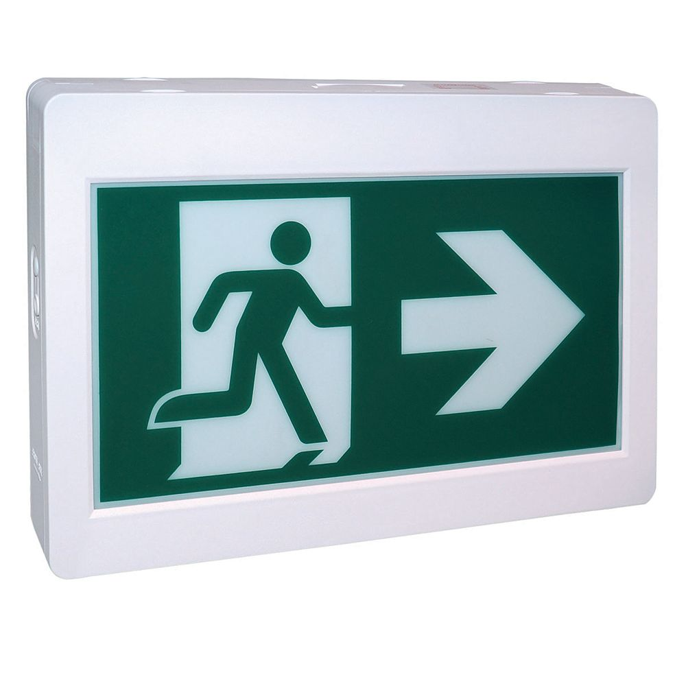 Nextlite Rectangular Running Man Exit Sign