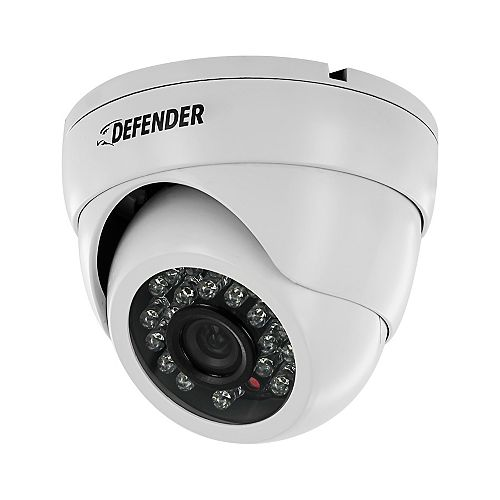 Pro Single 800TVL Ultra High Resolution Widescreen Indoor/Outdoor Dome Security Camera