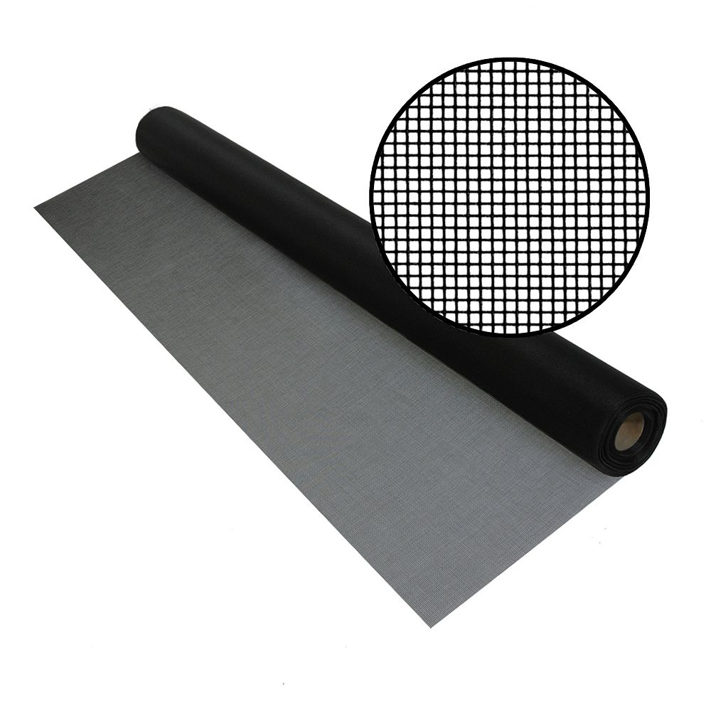 Phifer Bettervue 60-inch x 100 ft. Black Insect Screen
