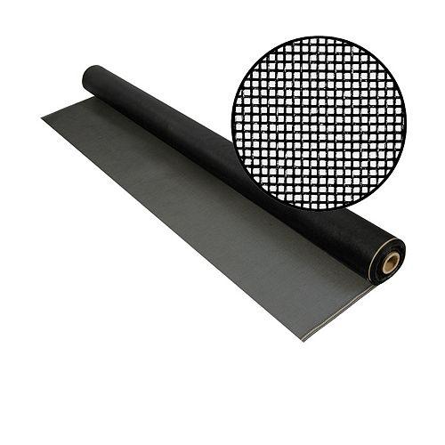 """Phifer Moust. noire 60""""x100' Treillis 20x20"""