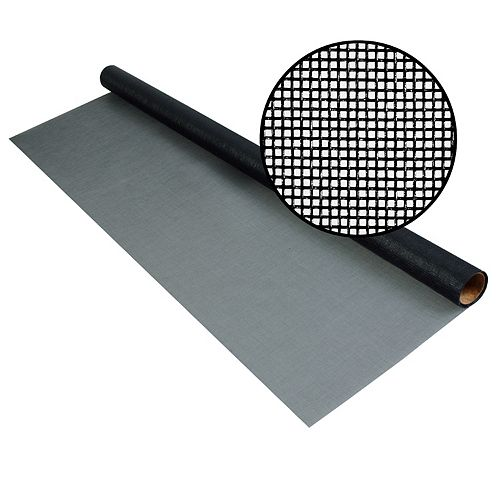 Phifer 72-inch x 25 ft. Fiberglass Charcoal 20x20 Mesh Screen