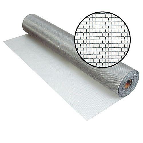 """Phifer Moustiquaire Brite en aluminium 60""""x100'"""