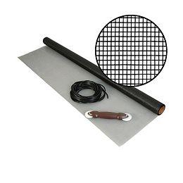 """Kit de Moust. en f.d.verre noire 48""""x25'"""