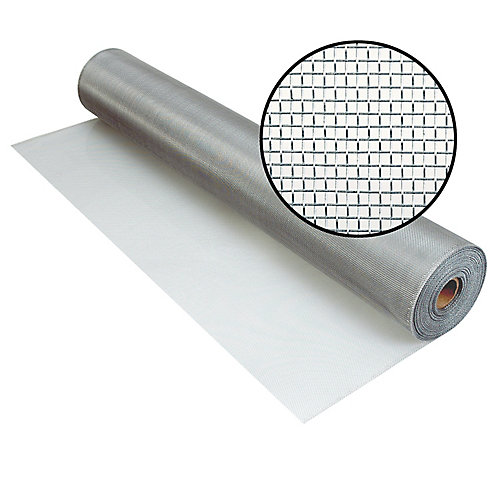 36-inch x 100 ft. Brite Aluminum Screen