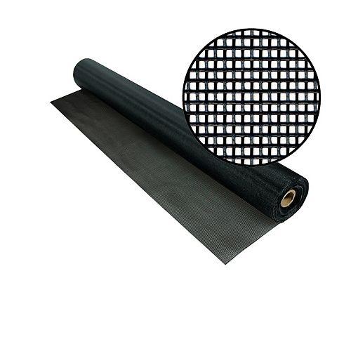 """Phifer Moustiquaire TuffScreen noire 36""""x50'"""