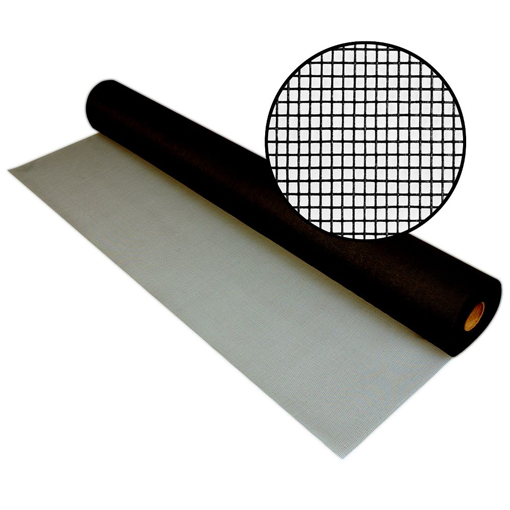 Phifer 48-inch x 100 ft. fibreglass Charcoal Screen