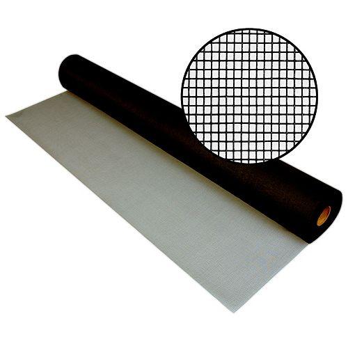 Phifer 60-inch x 100 ft. Fiberglass Charcoal Screen