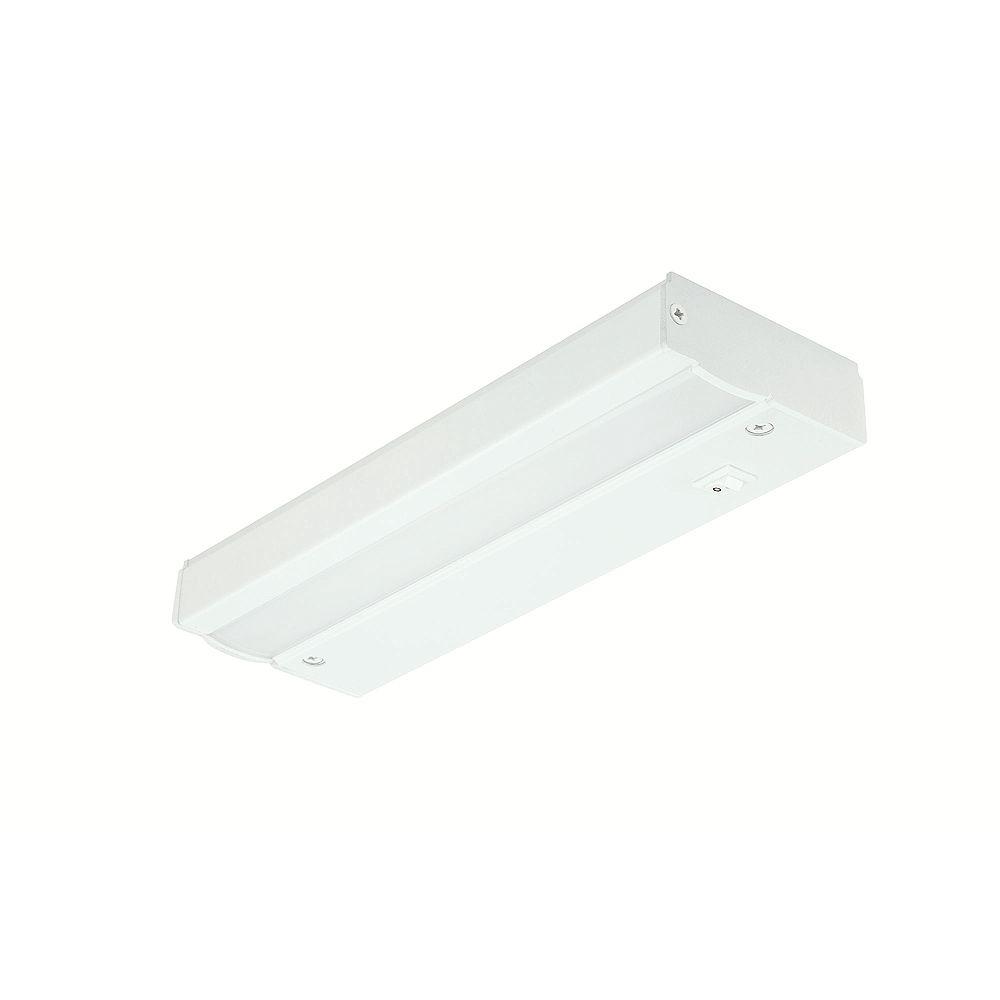 Commercial Electric Luminaire à DEL à prise directe pour dessous d'armoire, blanc, 23 cm (9 po)- ENERGY STAR®