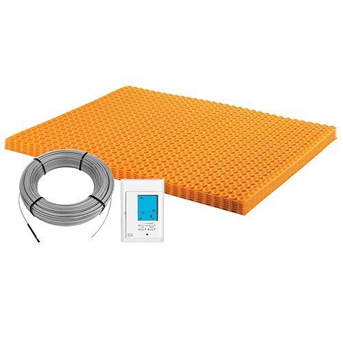 Ditra-Heat 120-Volt 60.3 sq. ft Electric Flooring Warming Kit