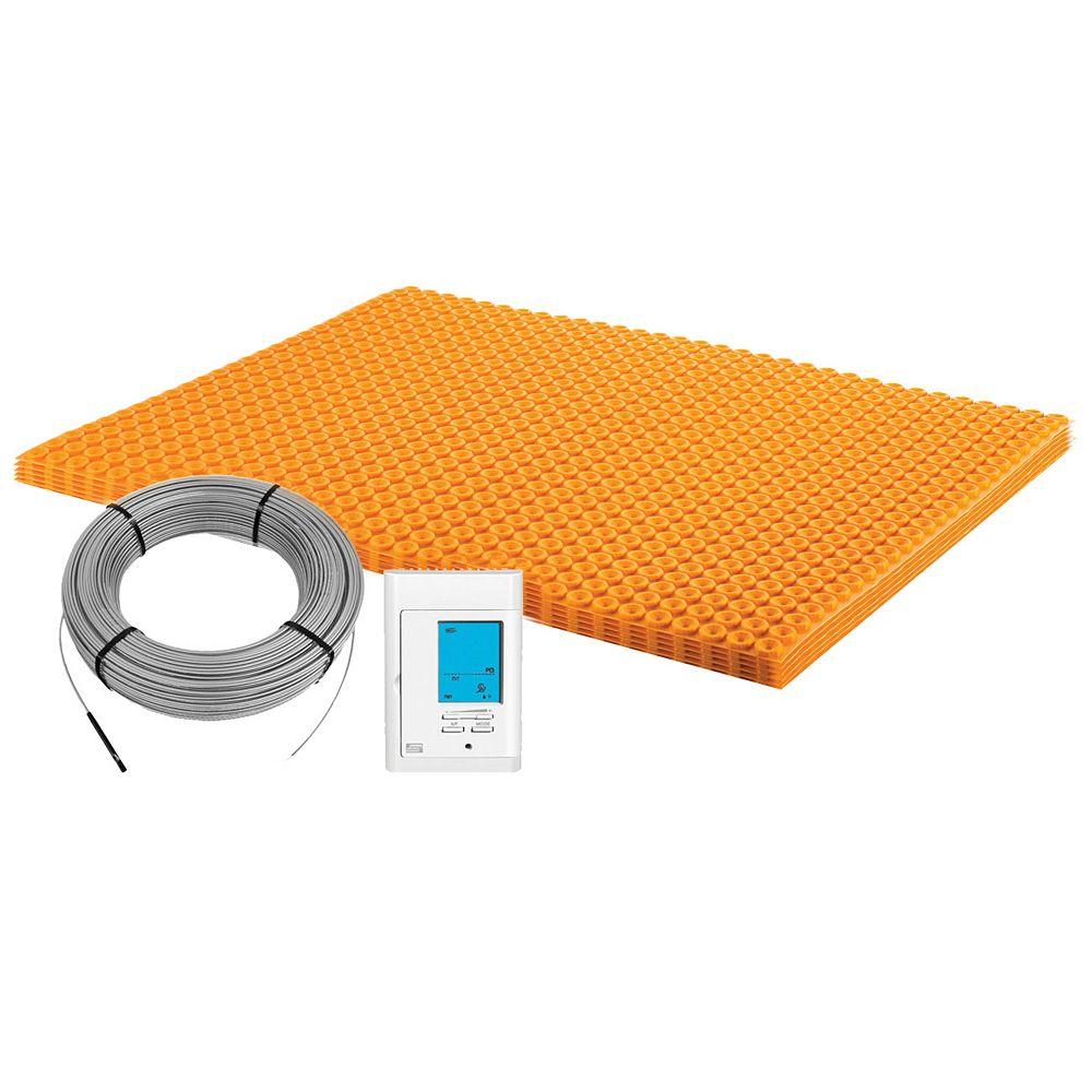 Schluter Ditra-Heat 120-Volt 43.1 sq. ft Electric Flooring Warming Kit