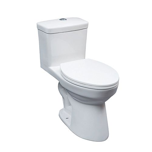 Glacier Bay 1pc ADA toilette allongée DF 4 / 6L