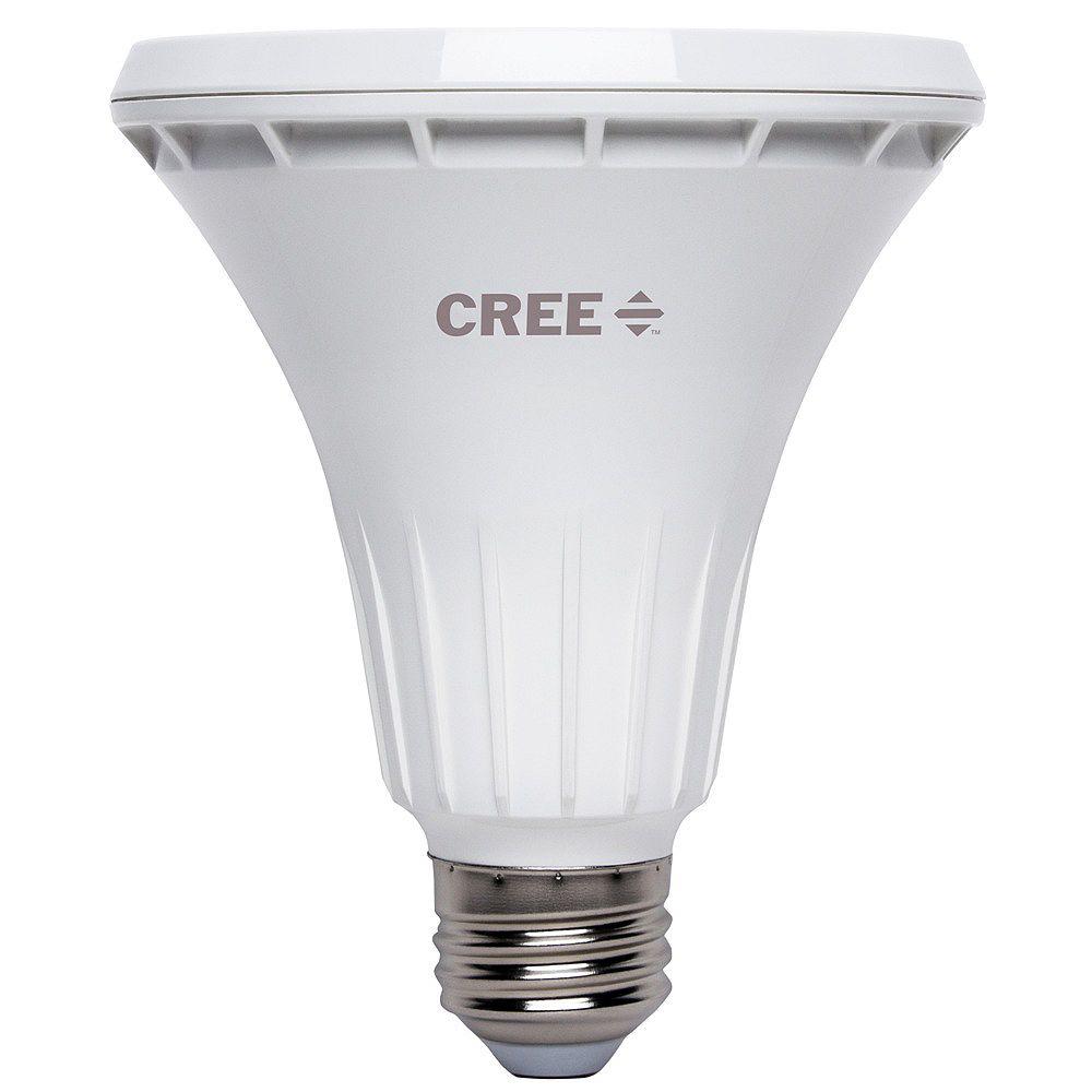 Cree 75W Equivalent Bright White PAR30 Long Neck 40 Degree Flood Dimmable LED Light Bulb - ENERGY STAR®