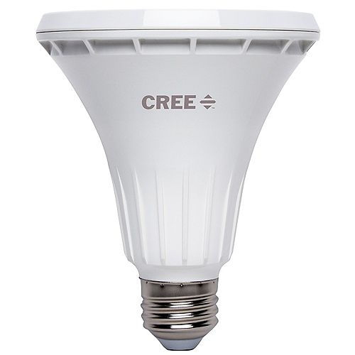 Cree 75W Equivalent Bright White PAR30 Long Neck 40 Degree Flood Dimmable LED Light Bulb - ENERGY STAR®