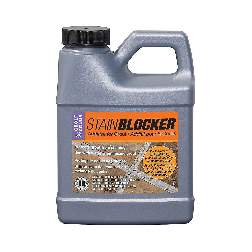 Custom Building Products StainBlocker pour Coulis - 12 oz (355 ml)